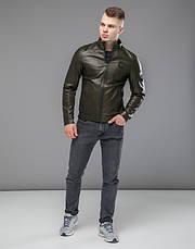 Braggart Youth | Осенняя куртка 43663 хаки, фото 2
