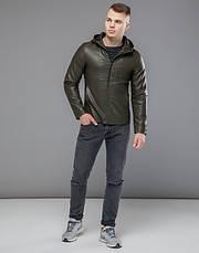 Braggart Youth | Осенняя куртка 15353 хаки, фото 2