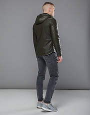 Braggart Youth | Осенняя куртка 15353 хаки, фото 3