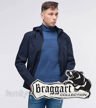 Braggart Youth | Осенняя ветровка 12320 темно-синий, фото 2