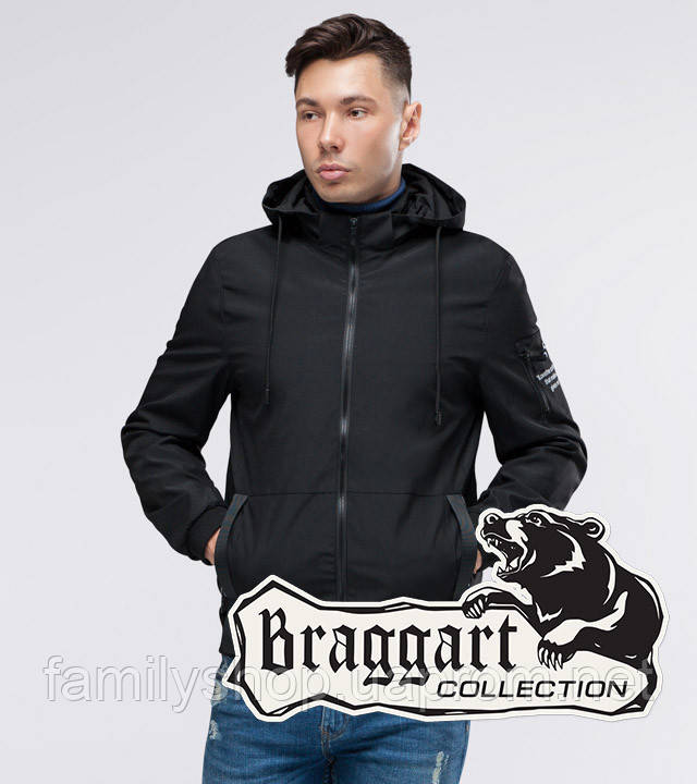Braggart Youth | Ветровка осенняя 29430 черный