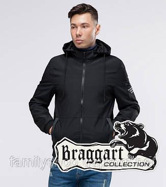 Braggart Youth | Ветровка осенняя 29430 черный, фото 2