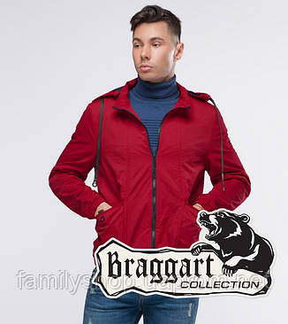 Braggart Youth | Осенняя ветровка 38399 красный, фото 2