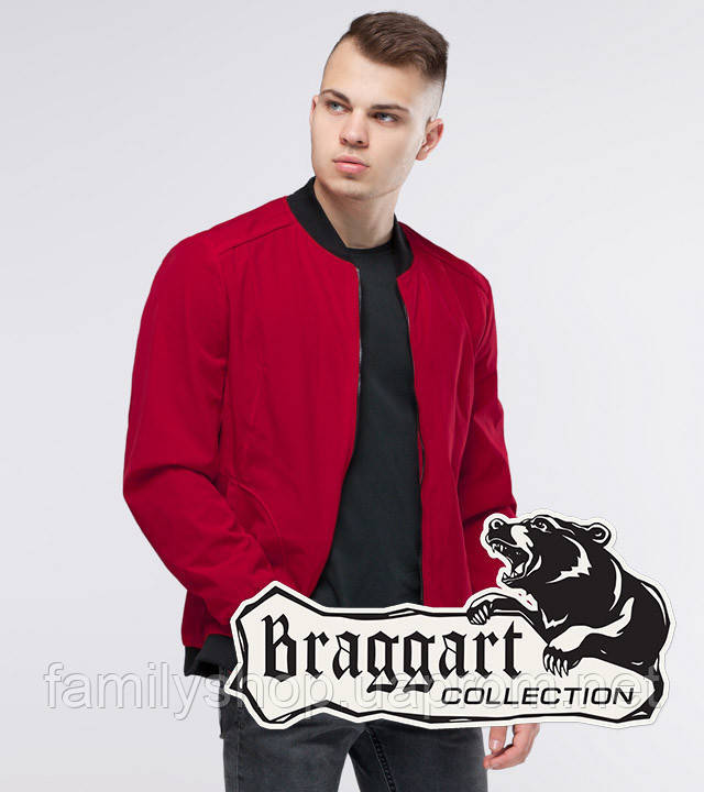 Braggart Youth | Бомбер осенний 18428 красный