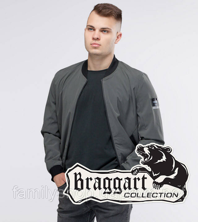 Braggart Youth | Бомбер осенний 25572 серый