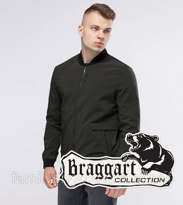 Braggart Youth | Бомбер осенний 32488 темно-зеленый