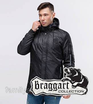 Braggart Youth | Парка демисезонная 20595 черный, фото 2