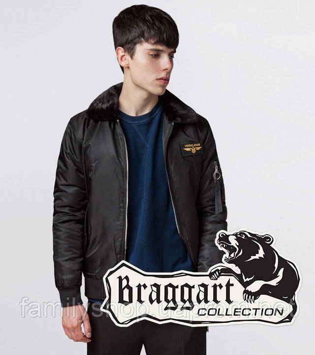 Braggart Youth | Куртка демисезонная 52121 черный