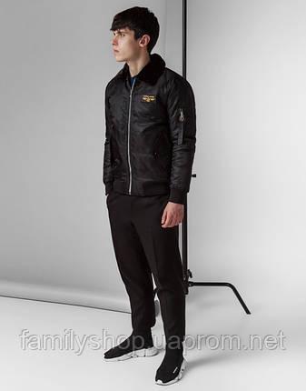 Braggart Youth | Куртка демисезонная 52121 черный, фото 2