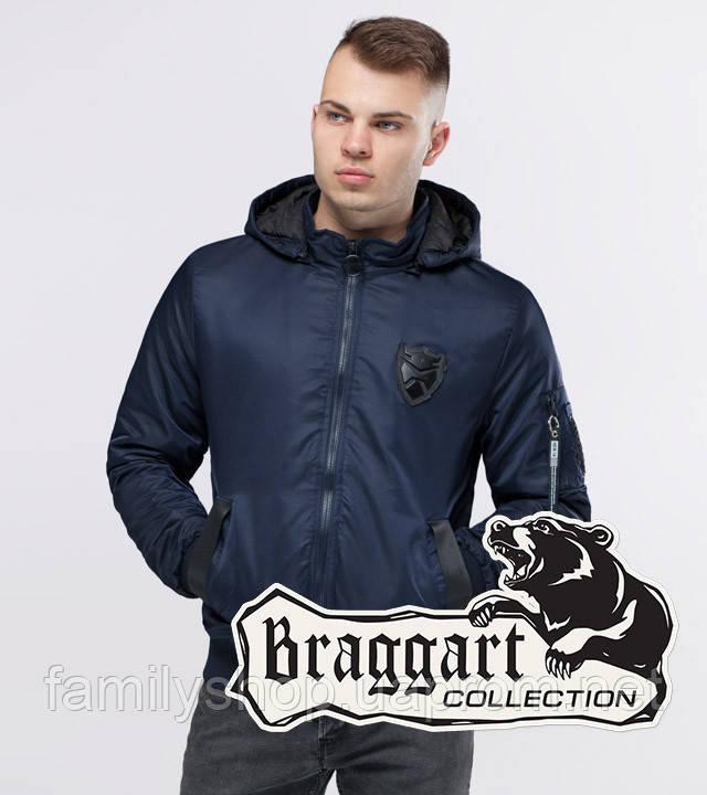 Braggart Youth | Бомбер осенний 10790 темно-синий