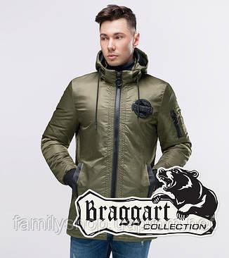 Braggart Youth | Куртка осенняя 19740 хаки , фото 2