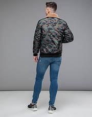 Braggart Youth   Куртка бомбер демисезонная 38666 хаки, фото 3