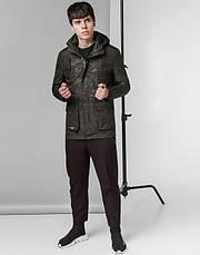 Braggart Youth | Демисезонная куртка 12121 хаки, фото 2