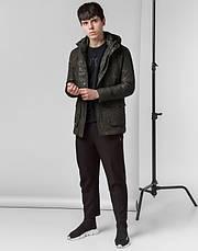 Braggart Youth | Демисезонная куртка 12121 хаки, фото 3