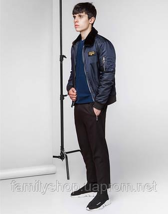 Braggart Youth | Демисезонная куртка 52121 темно-синий, фото 2