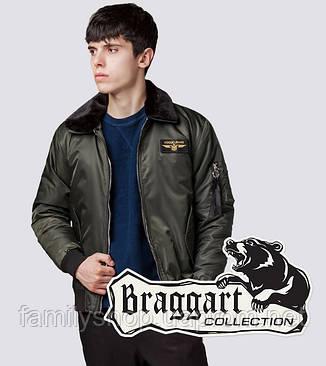 Braggart Youth | Бомбер демисезонный 52121 хаки, фото 2