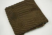 Махровое полотенце Mahrof Store для ног 50х70 см коричневый