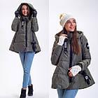 Зимняя Куртка Топ Стиль Oversize  Фабричный Китай Размеры в наличии, фото 3