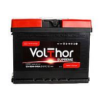 Аккумулятор автомобильный VolThor 6СТ-66 АзЕ Supreme