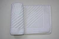 Махровое полотенце Mahrof Store для ног 50х70 см белое