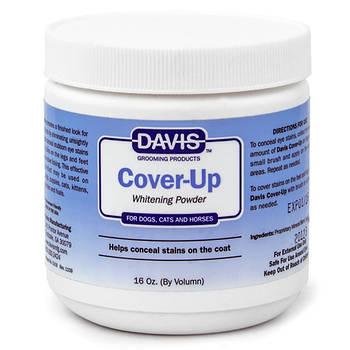 Пудра Davis Cover-Up Whitening Powder маскирующая отбеливающая для собак и котов, 0,3 л