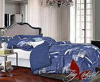 Комплект постельного белья Ранфорс семейный 2 пододеяльника TAG R2311