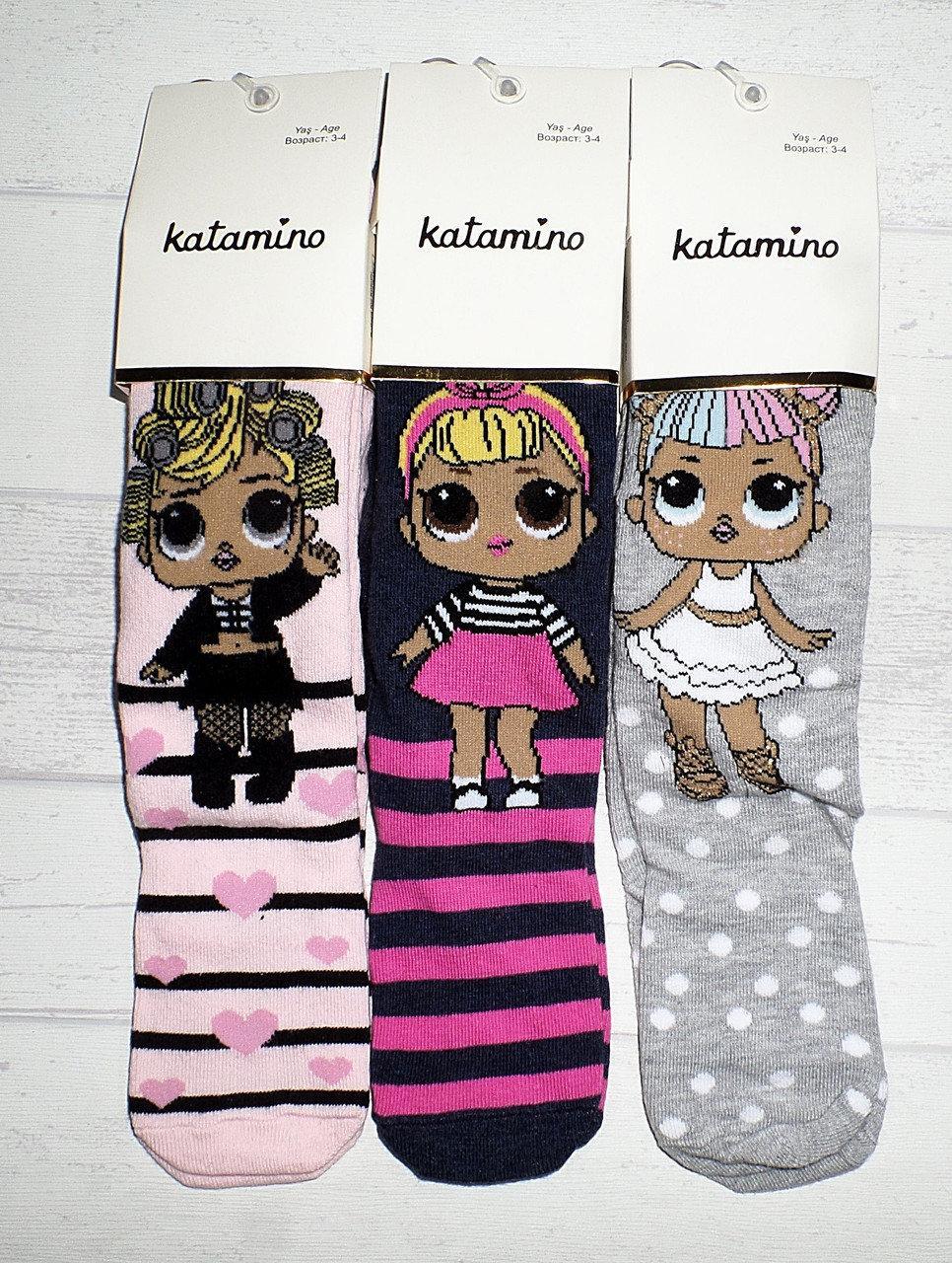 Колготки для девочек с куклами LOL