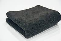 Полотенце для лица махровое Mahrof Store 550 гр/м2, 50х100 см черное