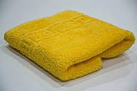 Полотенце для лица махровое 50*90 см желтый