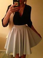 Красивая летняя юбка-клеш