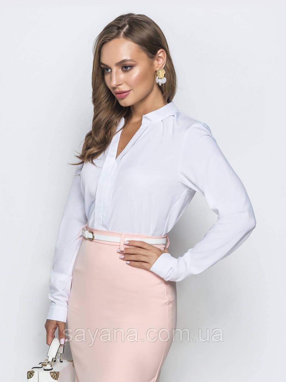 Женская блуза, в расцветках, р-р 48-50. ЛП-6-1-0819(728)