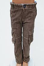 Детские брюки для мальчика Melby Италия 13591690 светло-коричневый 122