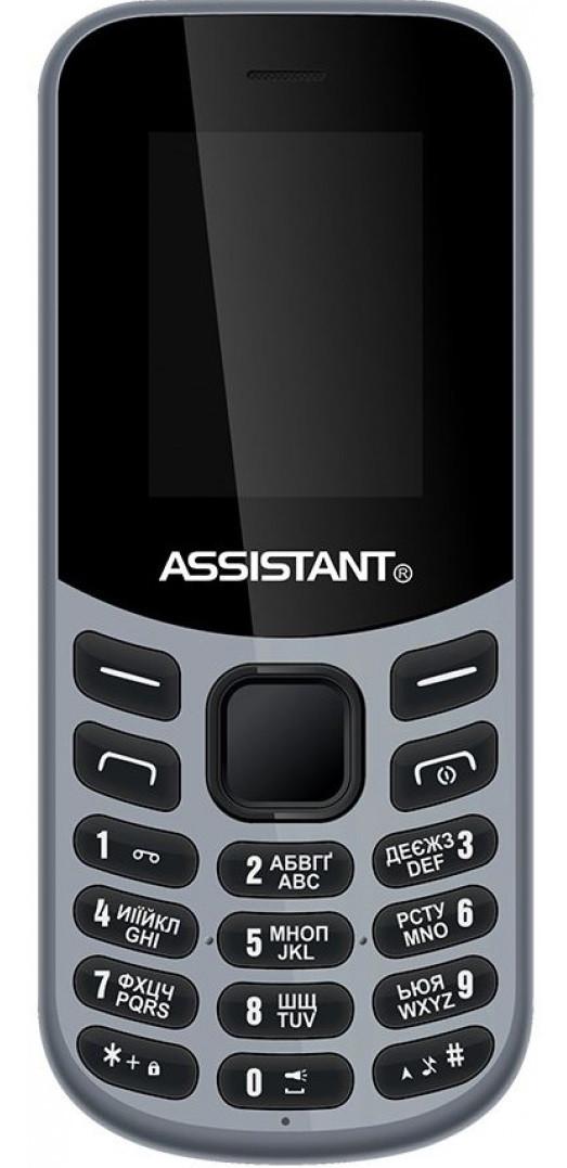 Мобильный телефон Assistant AS-101 Grey Гарантия 12 месяцев