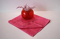 Махровое кухонное полотенце Mahrof Store  30х50 см малиновое