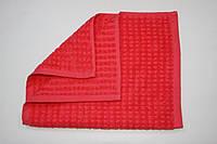 Махровое кухонное полотенце Mahrof store 30х50 см корраловое