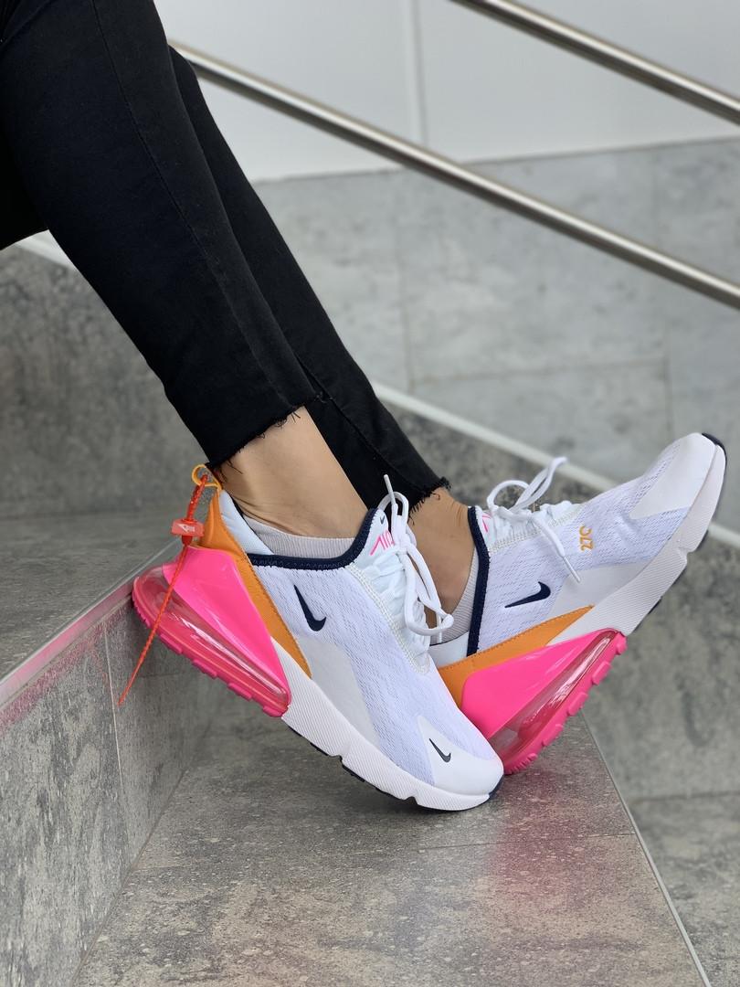 Кроссовки женские Nike Air Max 270. ТОП КАЧЕСТВО!!! Реплика класса люкс (ААА+)