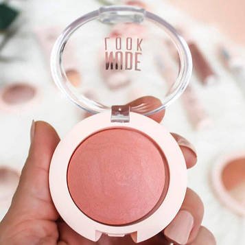 Рум'яна для обличчя Golden Rose Nude Look Face Baked Blusher
