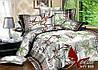 Комплект постельного белья семейный с 2-мя пододеяльниками Поликоттон TAG XHY609