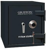 Огневзломостойкий сейф GRIFFON CLE.II.68.КС черный (Украина), фото 1