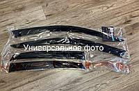 """Ветровики (дефлекторы) на окна Daewoo Lanos Coupe 1997-2003 """"CT""""/Деу Ланос Купе"""