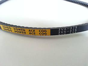 Ремень 3VX-375 BANDO POWER ACE COG  для тестоделителя Sinmag SM-3-30
