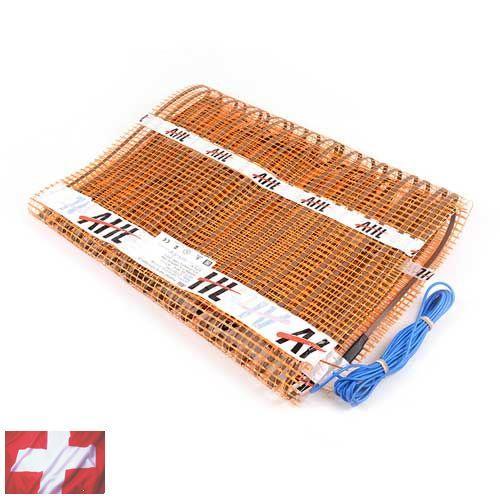 Теплый пол AHT (нагревательный мат 1,5 м Х 0,5 м (0,75 кв. м) ~150Вт/м²)