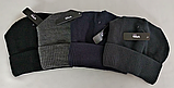 М 5086 Шапка чоловіча, акрил, фліс, розмір вільний, фото 2