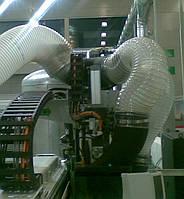 Поліуретанові рукава 80мм 0.5мм для видалення стружки