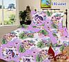 Комплект постельного белья 7191 violet