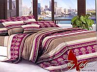 Комплект постельного белья Евро поликоттон TAG XHY818