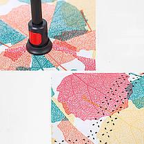 ➀Умный зонт Lesko Up-Brella Кленовый лист ветрозащитный антизонт обратное складывание смарт зонт прочная ткань, фото 3