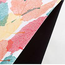 ➀Умный зонт Lesko Up-Brella Кленовый лист ветрозащитный антизонт обратное складывание смарт зонт прочная ткань, фото 2