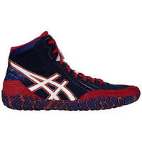 БОРЦОВКИ ASICS AGGRESSOR 3 ESTATE BLUE/WHITE/TRUE RED, фото 1