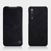 Кожаный чехол-книжка Nillkin Qin Series для Xiaomi Mi 9 SE - Black